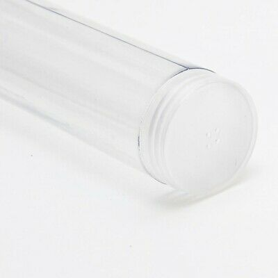 """2/"""" 23//64 NEW 60 MM BUTTON TUBES PERFECT FOR ALL YOUR STORAGE NEEDS X 5 ***"""