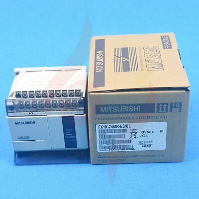 1PC New in box Mitsubishi FX1N-24MR-ES/UL Programmable Controllers