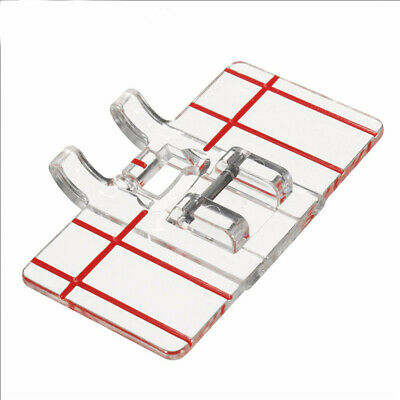 Guide Sewing Machine Feet Parallel Stitch Measure with a Ruler Presser Foot