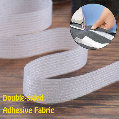 Interlining Apparel Clothes Adhesive fabric Hem tape Double-sided Sewing roll