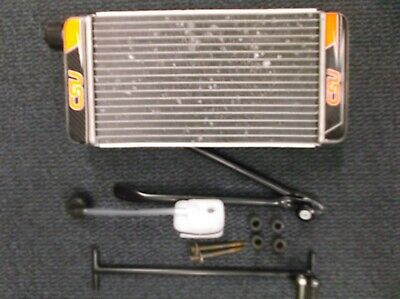 go kart  x30 radiator and fittings for iame x30 would also suit 100cc
