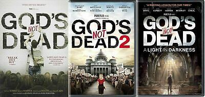 God's Not Dead 1, 2 & 3 A Light in the Darkness Complete Trilogy New Dvd