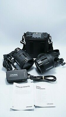 Profoto B2 250 AirTTL Power Pack Kit with Heads Certified Pre-Owned