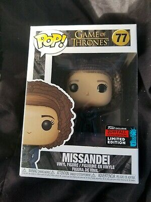 Funko Pop! Game of Thrones #77 MISSANDEI 2019 NYCC Shared Exclusive IN HAND