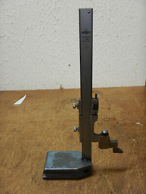 "Older Mitutoyo 6"" Height Gage Gauge Machinist Tool A"