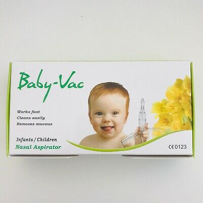 Baby-Vac Nasal Aspirator - the ultimate snot sucker - Continuous Suction