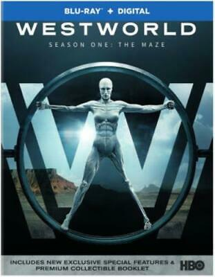 WESTWORLD: THE COMPLETE FIRST SEASON (Region A BluRay,US Import,sealed.)