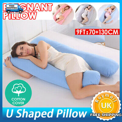 9ft U Pillow -Pregnancy Total Body Support, Best Giant Maternity Adult Pillow UK