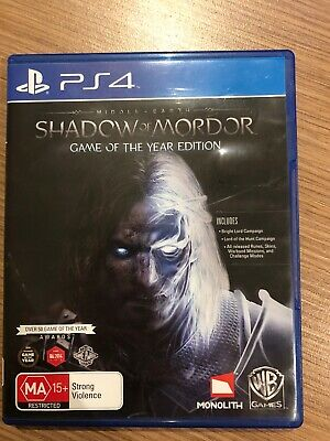 Middle-Earth: Shadow Of Mordor Game Of The Year Edition - PS4