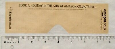 Vintage: plastic bookmark - book a holiday in the sun at Amazon, Expedia