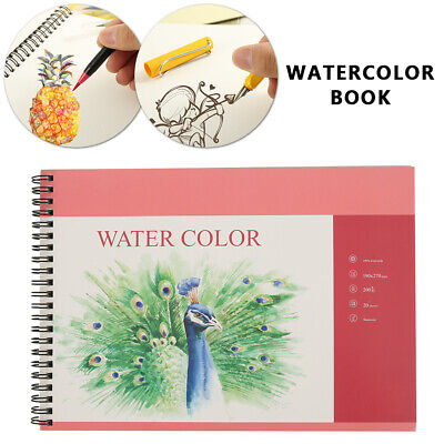 Watercolour Rough Surface Paper Art Artist Sketchbook Drawing Painting 270*190MM