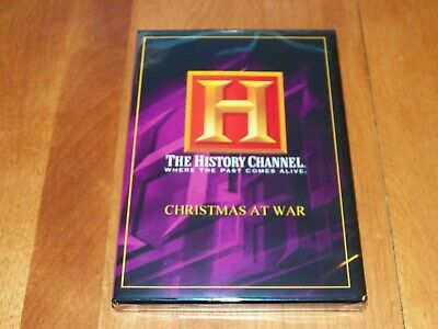 CHRISTMAS AT WAR Warfare Holiday Truce WWI WWII HISTORY CHANNEL Rare DVD NEW