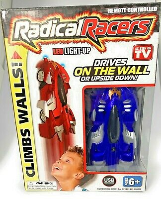 Radical Racers Wall Climbing Remote Controlled Car Climbs Wall Ceilings #1 Toy