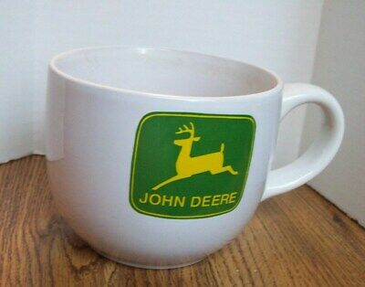 JOHN DEERE large 24 oz mug ~ soup ~ coffee ~ ice cream ~ by GIBSON ~ NO Box