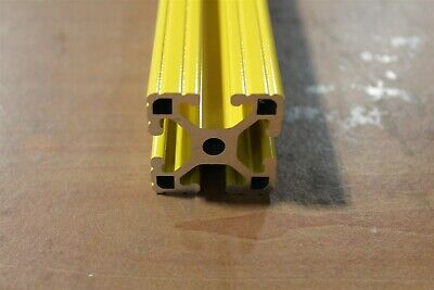 "8020 Extrusion Powder Coated 15 Series 1515-Lite x 48"" Yellow ML-02"