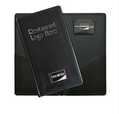 CUSTOM Check Presenter Holder 25 per box Credit Card Holder Restaurant and Bar