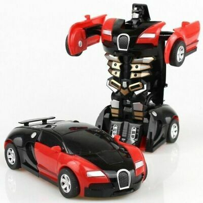 Robot Car Transformers Kids Toys Toddler Vehicle Cool Toy For Boys Xmas Gift AA