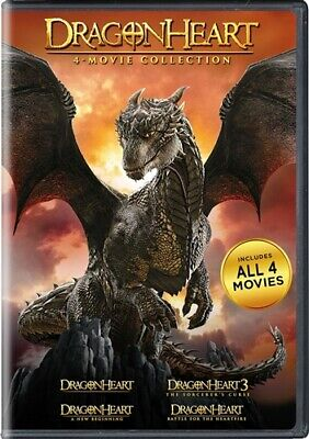 DRAGONHEART 4 MOVIE COLLECTION New Sealed 4 DVD Set 1 2 3 4