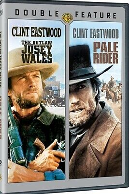 THE OUTLAW JOSEY WALES PALE RIDER New Sealed 2 DVD Double Feature Clint Eastwood