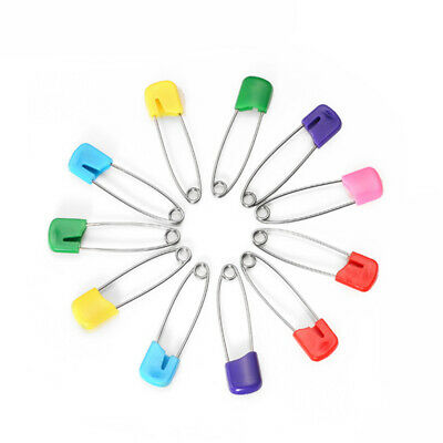 Baby Diaper Pins Safety Infant Cloth Nappy Hold Locking Clip 144 Pcs Wholesale