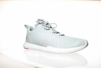 Reebok Mens Reago Pulse Grey/White/Red Cross Training Shoes Size 11.5 (829067)