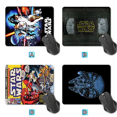 Star Wars Retro Film Poster Computer Mouse Pad Mat PC Laptop Mice Office