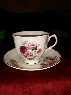 Vintage Crown Dorset Coffee Cup Staffordshire England