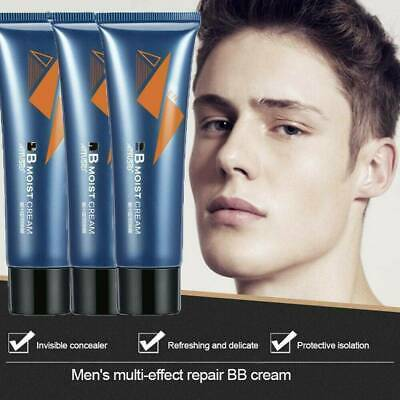 50ML Natural Mens Revitalising Nourishing Tone Up Moist BB Cream Lazy Concealer