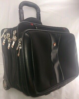 Wenger Swiss Gear Carry-On Laptop Case Rolling Briefcase Bag