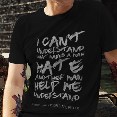 PEOPLE ARE PEOPLE - Depeche Mode Inspired - Quality Crew Neck T-Shirt