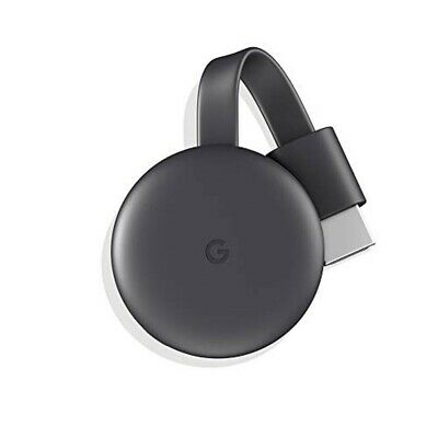 Google Chromecast dongle Smart TV Full HD HDMI Antracite, Grigio