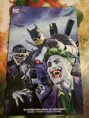 Batman Who Laughs The Grim Knight #1 Mike Mayhew Minimal Trade Variant Dc Comics