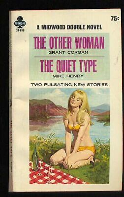 Vintage Sleaze Paperback. Grant Corgan: The Other Woman. Midwood 34-696. 676167