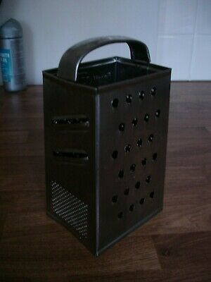 Vintage Tala 4 sided stainless steel grater kitchenalia