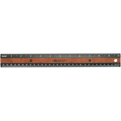 Westcott KleenEarth RecycledPlastic Ruler With Microban Protection 12
