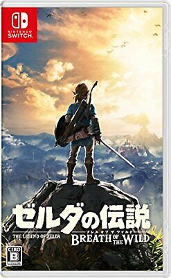 Nintendo Switch Game The Legend of Zelda Breath of the Wild F/S w/Tracking# NEW