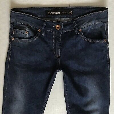 Ladies Next Lift & Shape Bootcut Blue Faded Jeans Size 10 R W28 L32 (341)