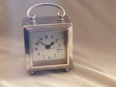 Small Antique French ? Carriage Alarm Clock Working
