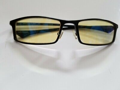 Gunnar Optiks Computer Glasses Gaming Gamers Protect Eyes Amber Lens 55018 134
