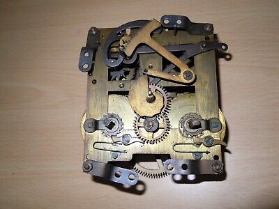 Vintage Clock Movement For Spares Or Repairs