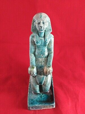 Ancient Egyptian Antiquities Statue of God Tutankhamen ( 1332 – 1323 BC)