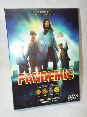 Pandemic Board Game - Factory Sealed - Brand New - ZMAN Games