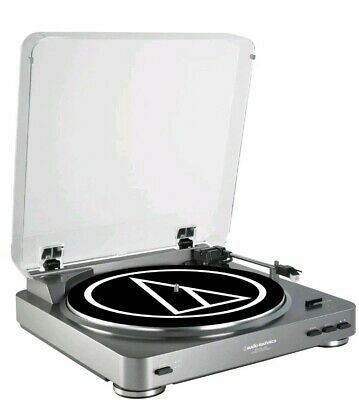 Audio-Technica AT-LP60 Fully Automatic Belt-Drive Stereo Turntable USB & Analog