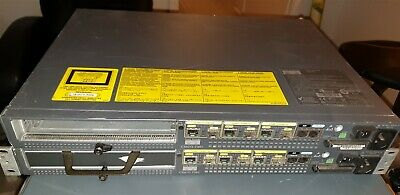 Cisco 7301 Router 64MB SD Card (bottom pic with rack ears)