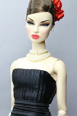 Fashion Royalty Black Evening Dress For Integritytoys, FR2, FR6.0, Barbie