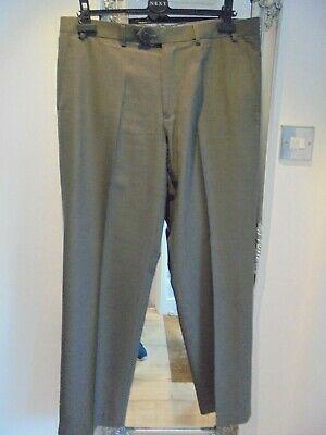 "Mens Marks & Spencer Brown Crease Resistant Trousers W 36"" L 31""."