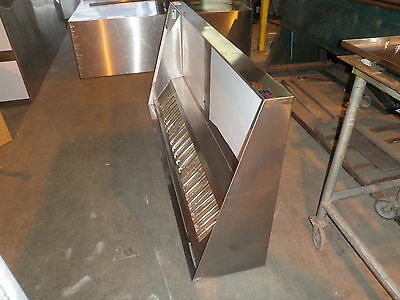 7 ' type l hood concession  kitchen grease hood / truck / trailer