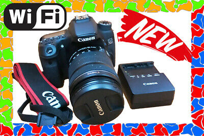 Canon EOS 70D 20.2 MP DSLR Camera w/ EF-S 18-135mm STM Kit with charger