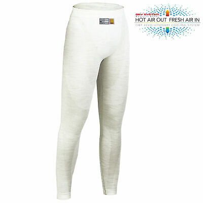 OMP One DRY SYSTEM Lightweight Nomex Long Johns / Pants - FIA Approved