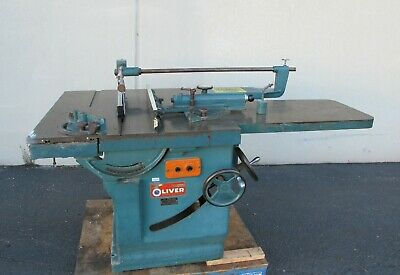 Oliver 260-D Heavy Duty Vintage Table Saw Made In USA 260D Nice